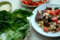 spicy thai grilled beef salad