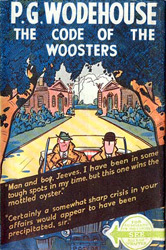code of the woosters p.g. wodehouse