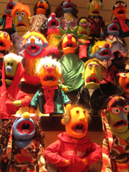 muppet wall at fao schwartz