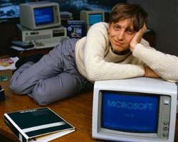 bill gates fashion