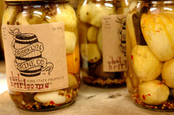 hot heirloom pickles brooklyn brine greenpoint food market