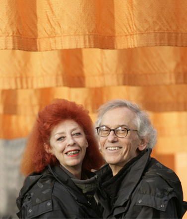 jeanne claude and christo
