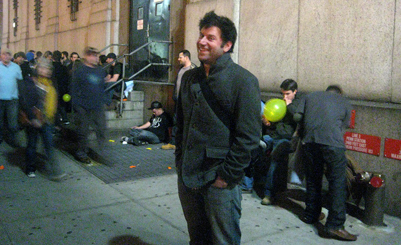Dan outside a Phish show at MSG