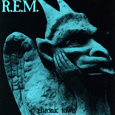 R.E.M. Chronic Town album art